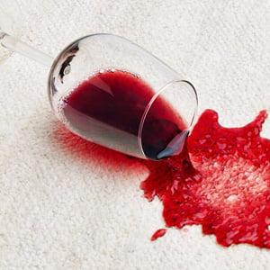 Få bort rödvin